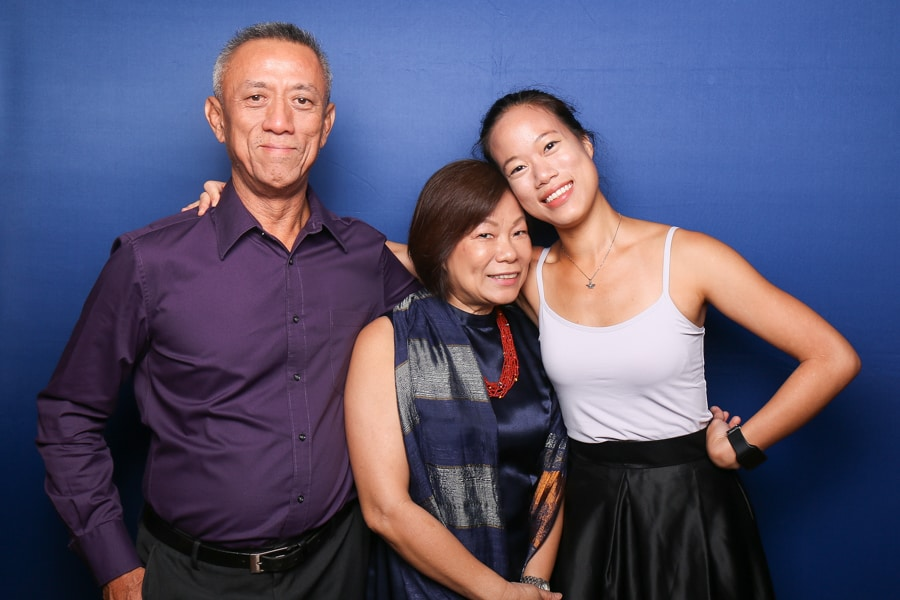 Navy Blue Photo Booth Backdrop 1
