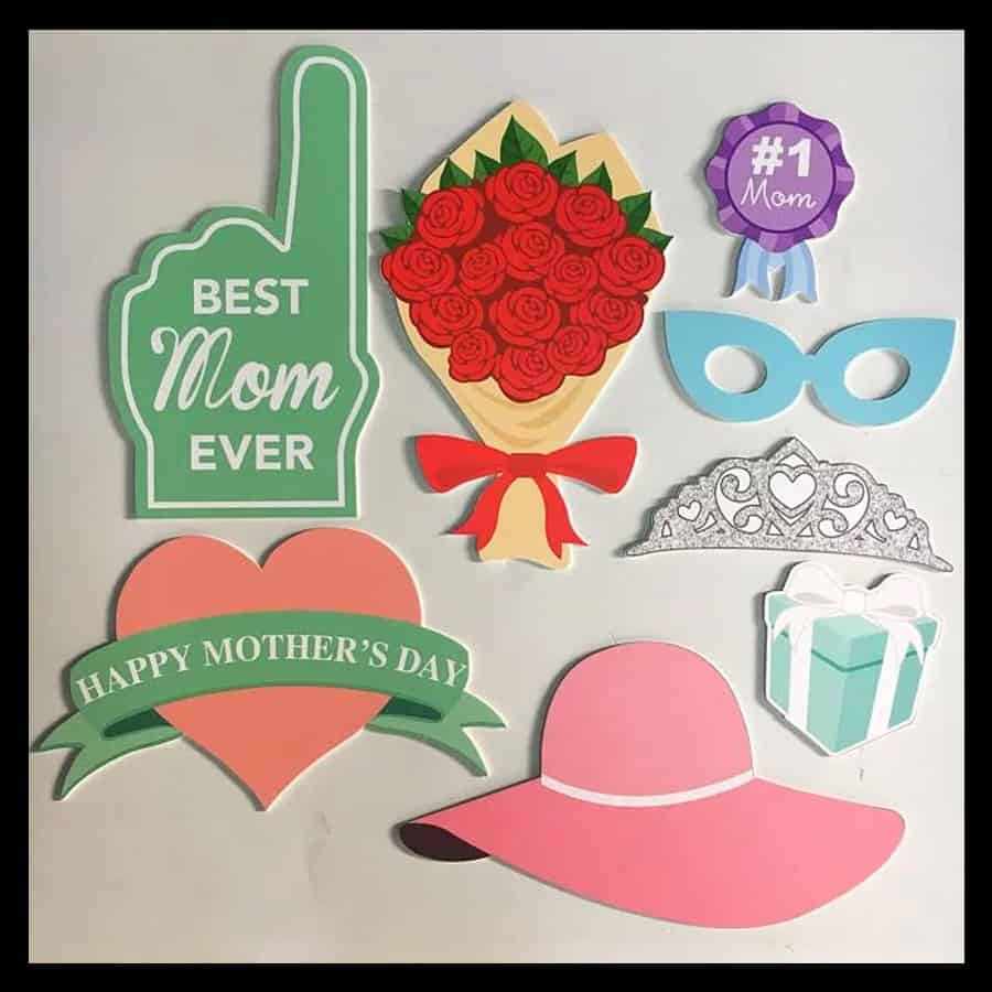 Customised Photo Booth Props 9