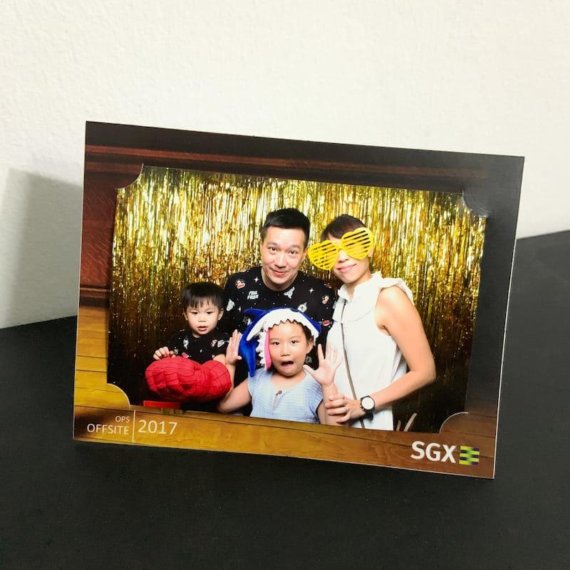 Customised Paper Photo Frames (4R) 6