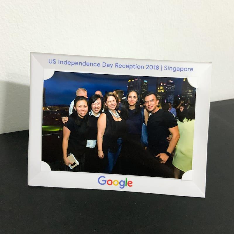 Customised Paper Photo Frames (4R) 8