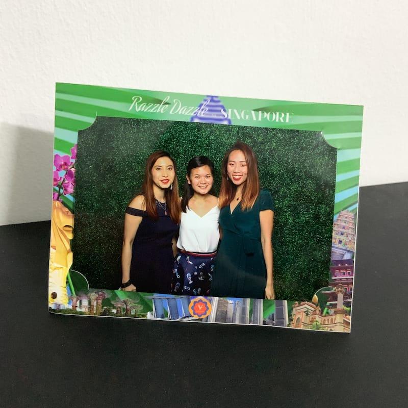 Customised Paper Photo Frames (4R) 5