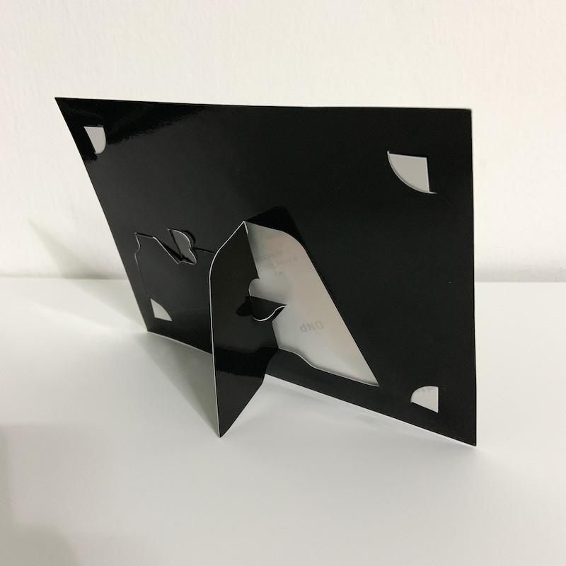 Plain Black Paper Photo Frame 4