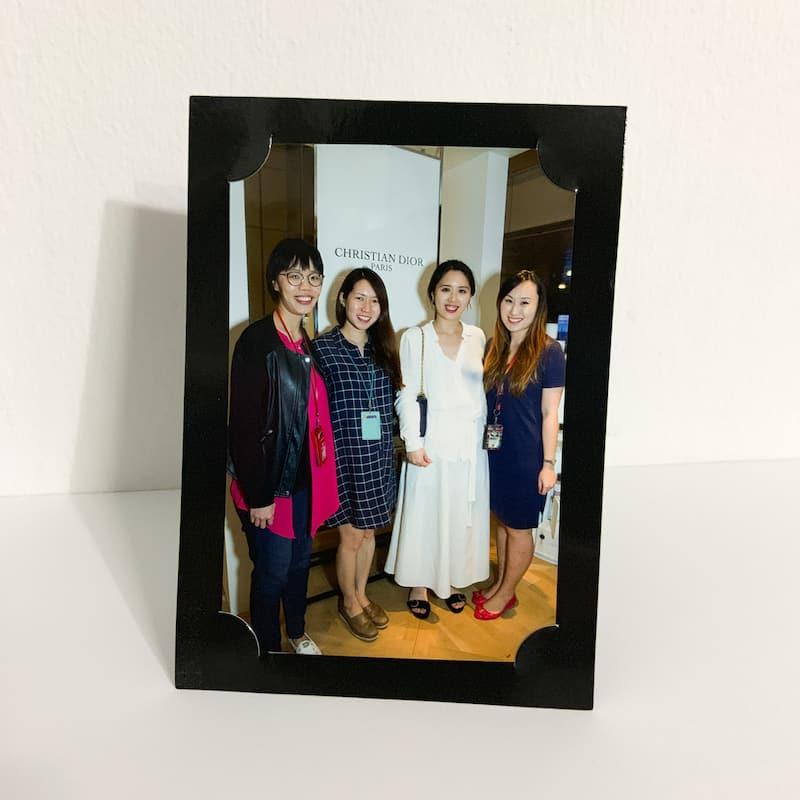 Plain Black Paper Photo Frame 5