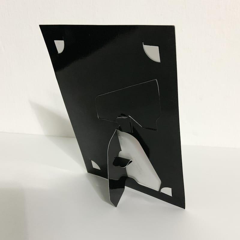 Plain Black Paper Photo Frame 7