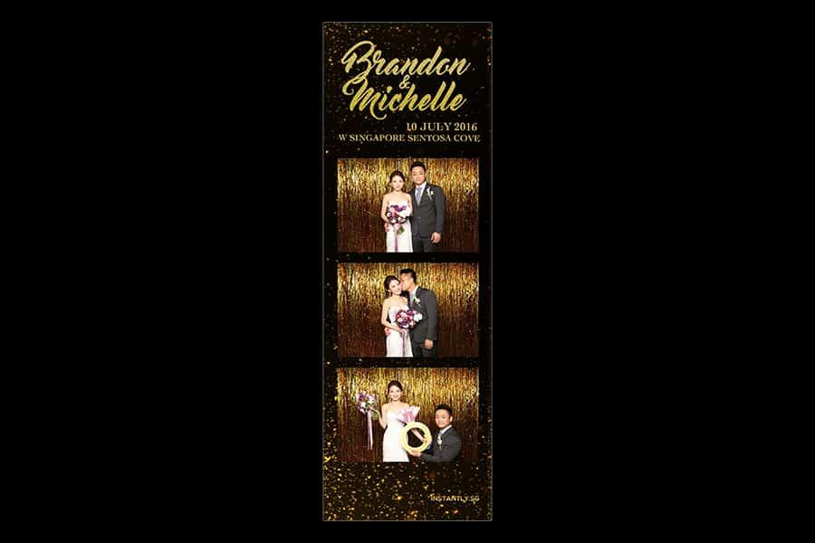 Black and Gold Design 3 Budget Wedding Photobooth 3