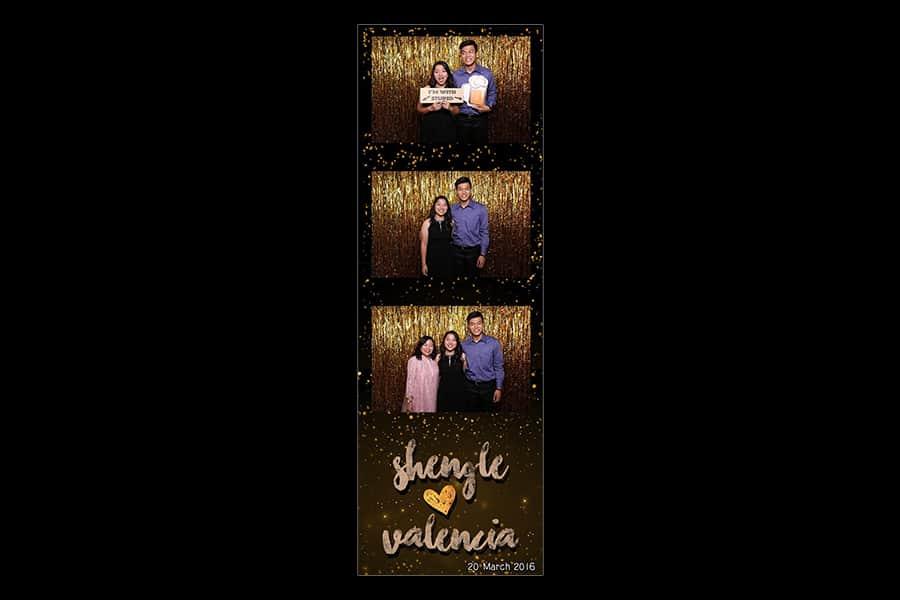 Black and Gold Design 4 Budget Wedding Photobooth 3