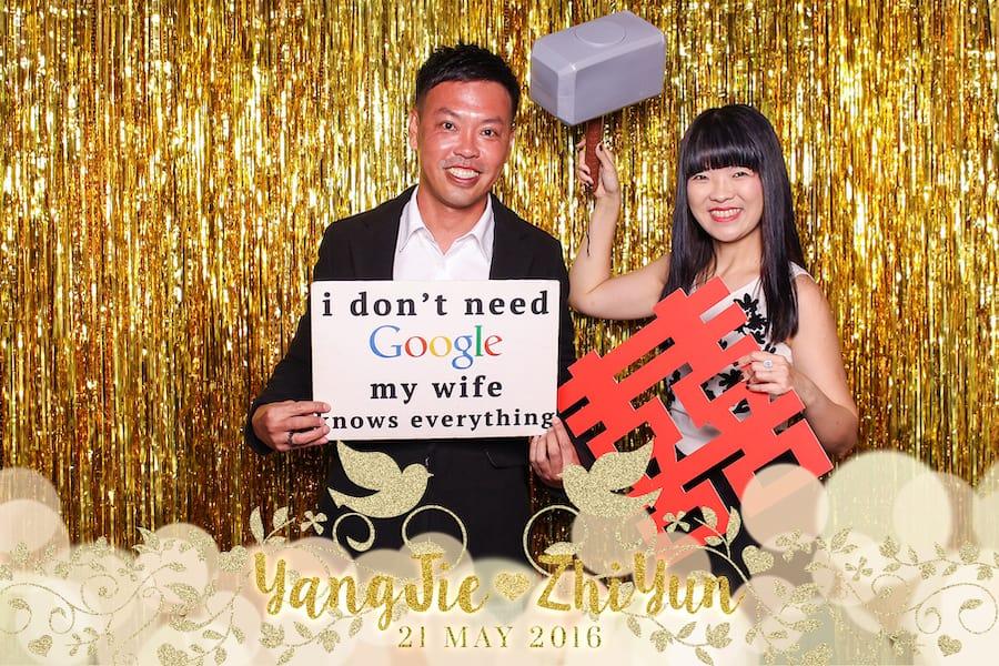 Black and Gold Design 5 Budget Wedding Photobooth 2