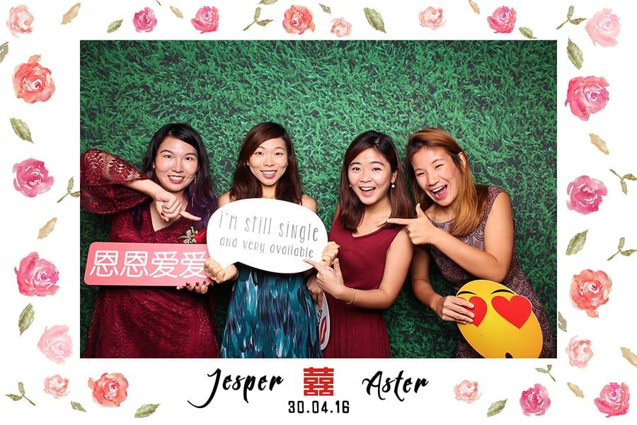 Floral Design 1 Budget Wedding Photobooth 1