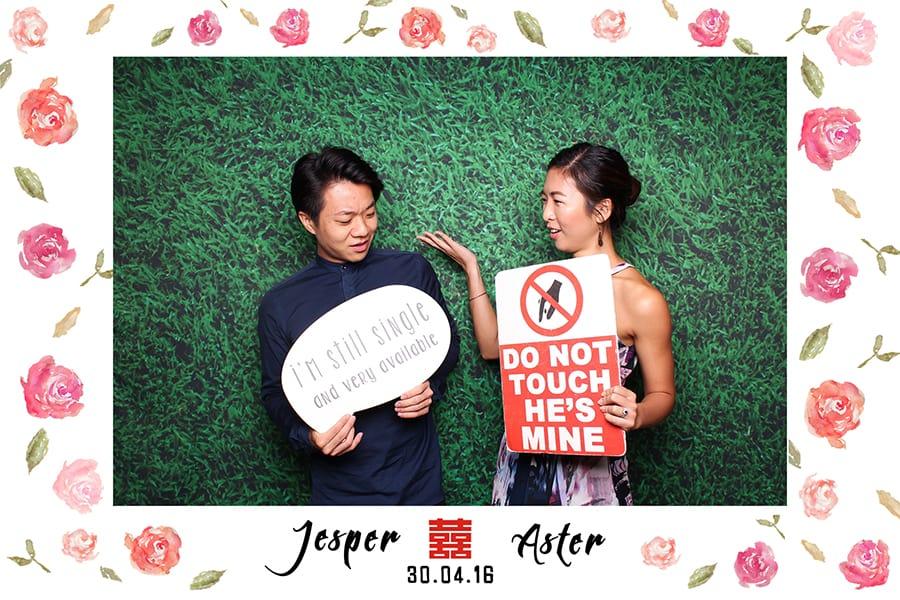 Floral Design 1 Budget Wedding Photobooth 2