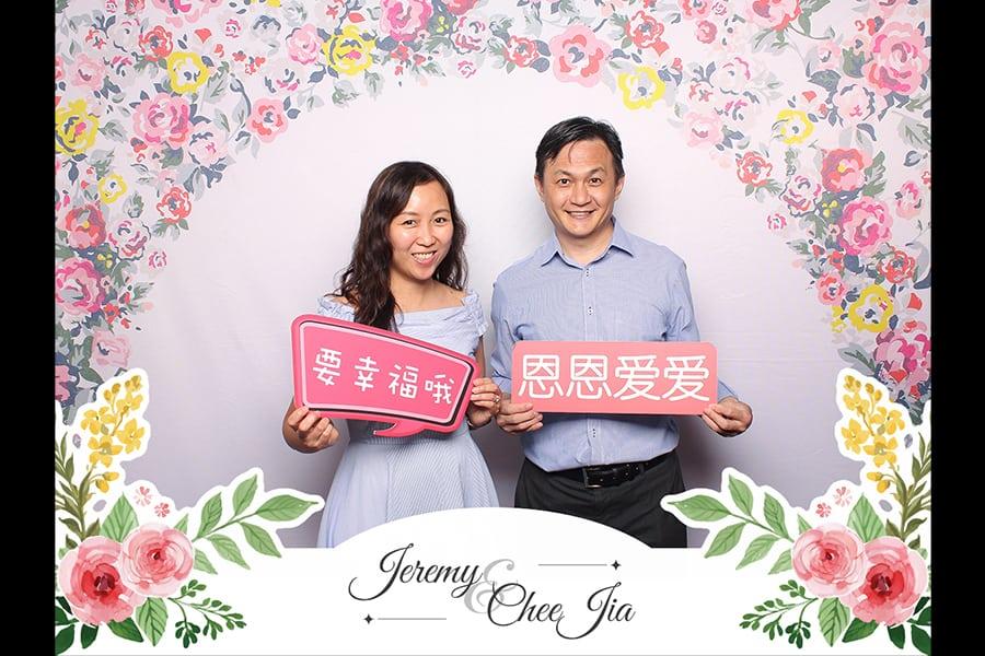 Floral Design 8 Budget Wedding Photobooth 1
