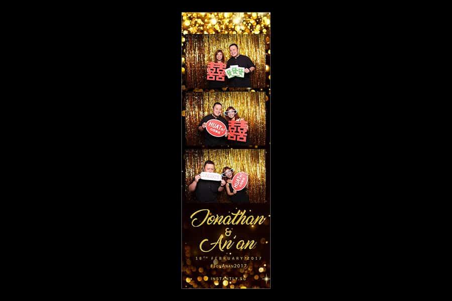 Black and Gold Design 6 Budget Wedding Photobooth 2