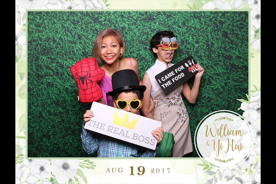 Floral Design 14 Budget Wedding Photo Booth Printout Out Design 3