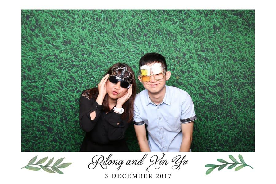 Floral Design 18 Budget Wedding Photo Booth Printout Design 2