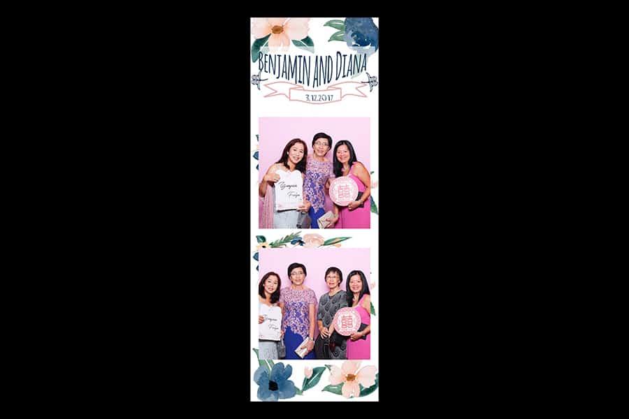 Floral Design 19 Budget Printout Design Wedding Photo Booth 2