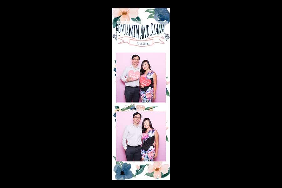 Floral Design 19 Budget Printout Design Wedding Photo Booth 3