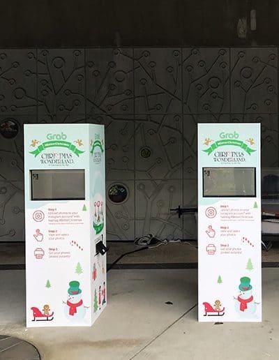 Mini Branding Enclosure (Non Camera) Instagram Photo Booth 7