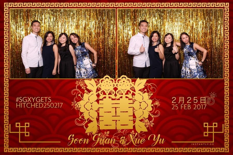Traditional Backdrop Design Budget Wedding Photo Booth 3